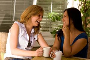women coffee